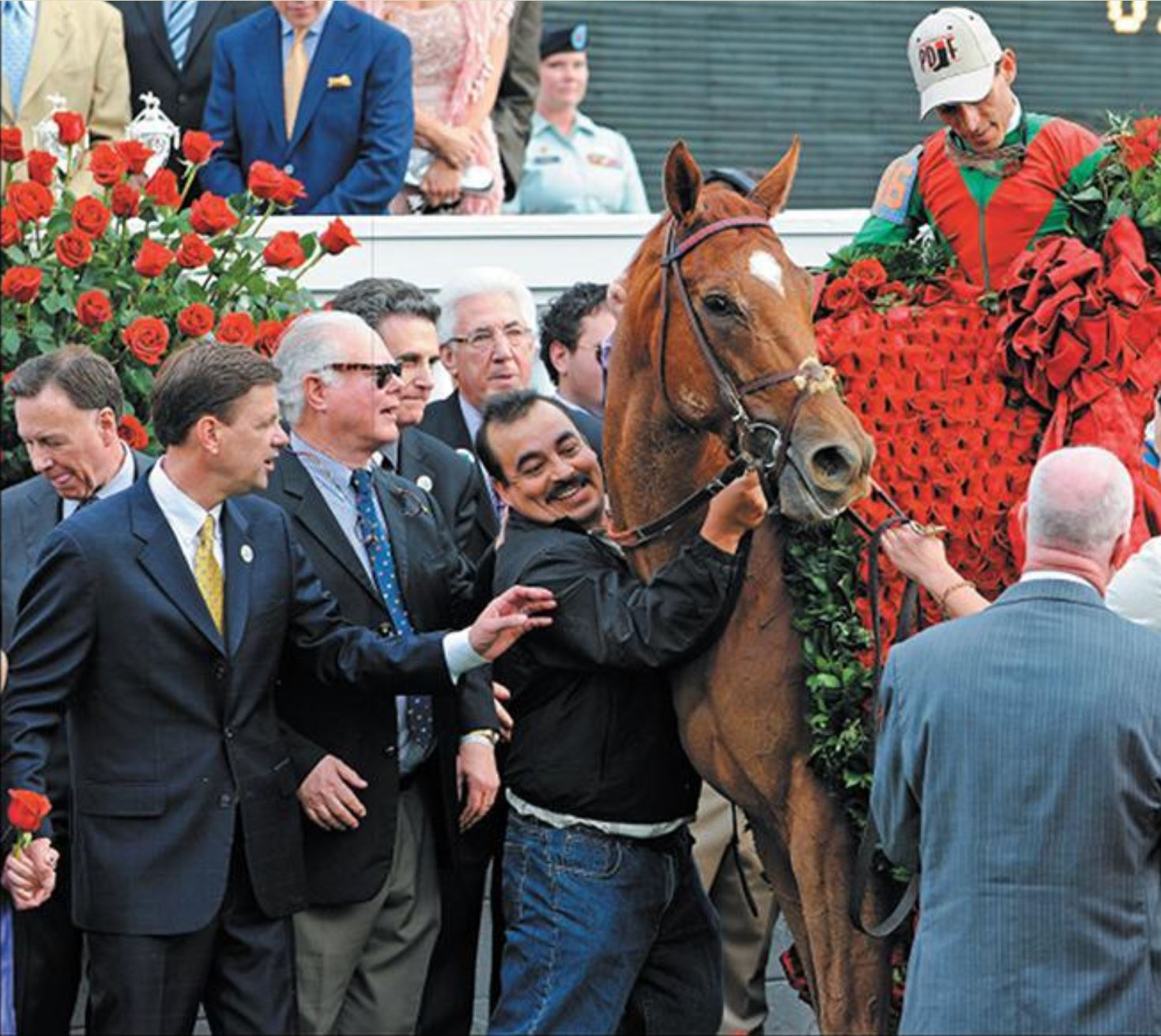 Animal Kingdom Derby winners' circle